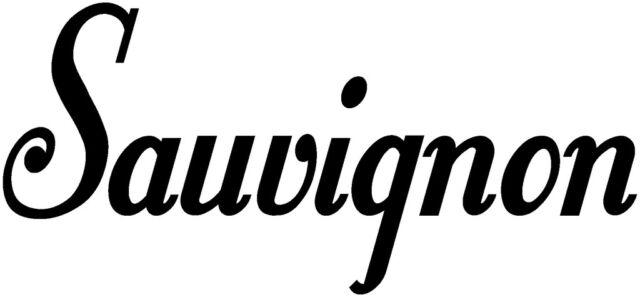 SAUVIGNON WINE DECAL WORD KITCHEN WALL ART STICKER