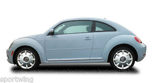VOLKSWAGEN-BEETLE-Painted-Body-Side-Mouldings-Moldings-3M-Tape-Trim-2012