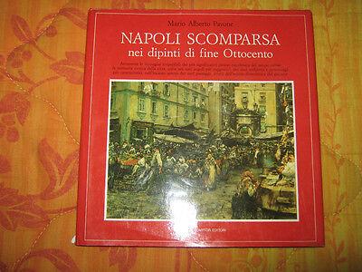 Libro Storia Napoli scomparsa nei dipinti di fine Ottocento Newton Mario Pavone