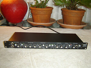 Ashly-BP41-Bass-Preamp-with-Equalizer-Crossover-Vintage-Rack