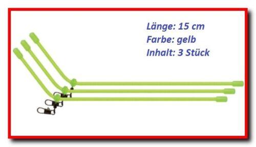 Entretoise Anti-tangle Feeder Boom avec mousqueton pour futterkorb plié