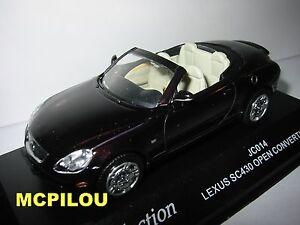 J-COLLECTION-JC014-LEXUS-SC-430-OPEN-CONVERTIBLE-BLACKISH-RED-au-1-43