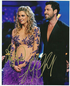 Dancing-With-The-Stars-ERIN-ANDREWS-MAX-CHMERKOVSKIY-Duel-Signed-8x10