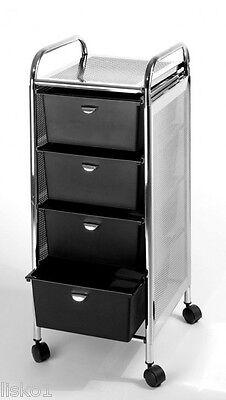Pibbs D-27 4-DRAWER pedicure - styling cart on wheels