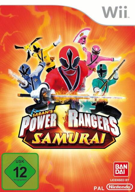 Power Rangers: Samurai (Nintendo Wii, 2011, DVD-Box) wiiu