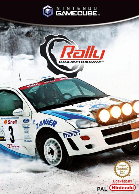 Rally Championship (Nintendo GameCube, 2003, DVD-Box) USK 0