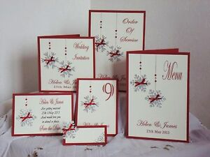 Handmade-Personalised-WINTER-WEDDING-invitations-stationary-place-cards-etc