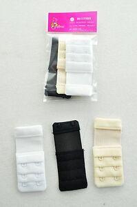 3-PCS-Bra-Extender-2-Hooks-Bra-set-Black-Beige-White