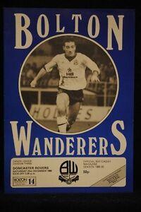 PROGRAMME-D3-Bolton-Wanderers-vs-Doncaster-Rovers-21-Dec-1985