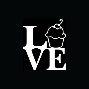 LOVE-CUPCAKE-Sticker-Funny-Cute-Car-Window-Vinyl-Decal-Laptop-Wall-Decor-Food