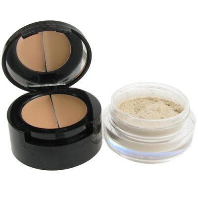 Concealer Make Up Beauty Face Cover Powder Cream Secret Mirror W7 Cosmetics x3