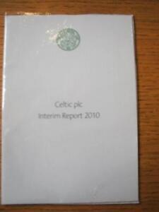 2010 Celtic: Interim Report [A5 Glossy Brochure]. Item