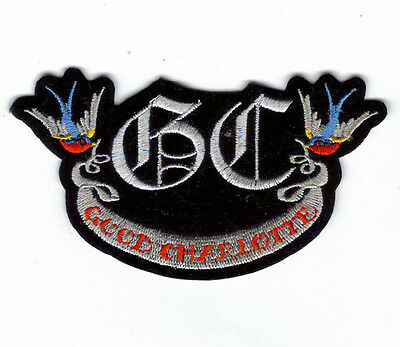 GOOD CHARLOTTE BIRDS EMBROIDERED PATCH !