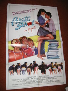 PRIVATE SCHOOL original MOVIE POSTER >1983 Phoebe Cates ...