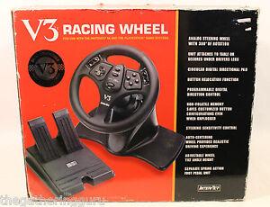 InterAct-V3-Racing-Wheel-Nintendo-64-Playstation-Analog-Steering-Wheel-Pedal