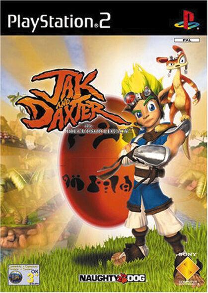 Jak And Daxter - The Precursor Legacy (Sony PlayStation 2, 2001, DVD-Box)