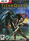Titan Quest: Immortal Throne (PC, 2007, DVD-Box)