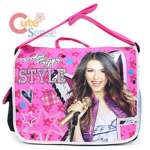 4c34979e6d Image is loading Victorious-Victoria-School-Messenger-Bag-Rockin-Preppy- Style-
