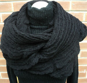 SALE-TOPSHOP-Cobweb-Snood-Black-Brand-New-Ladies-Clearance