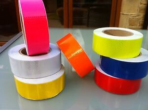 NEW-HIGH-INTENSITY-REFLECTIVE-TAPE-VINYL-50mm-x-3m-ROLL