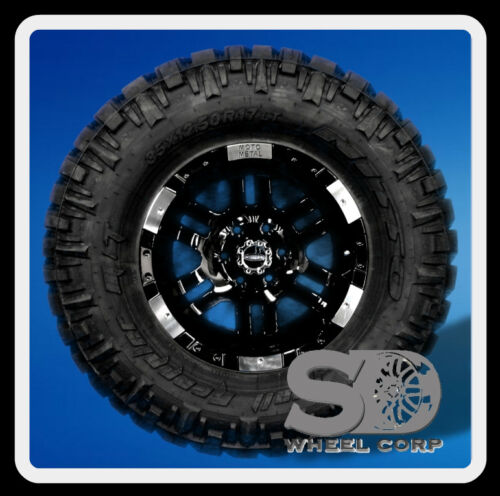 "17"" MOTO 951 BLACK &35X12.50X17 NITTO TRAIL GRAPPLER MT"