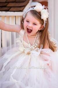 bride-flower-girl-TuTu-dress-perfect-for-pictures-0-1T-2T-3T-4T-5T-6T-7years