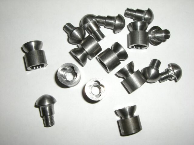 Jeep Willys MB Only Special Imitation Rivet Bolt Set For Bumper Gussets G-503