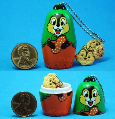 Disney Nesting Russian Doll Handicrafts Matryoshka CHIP N DALE Cookie N44