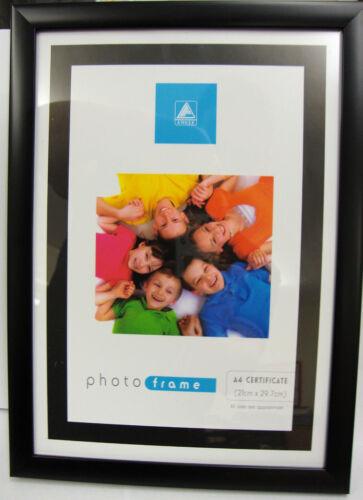 A4 Certificat Cadre Photo Image Noir Ou Argent