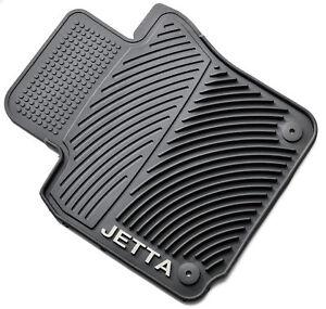 2005-5-2010-JETTA-VW-Volkswagen-Genuine-Monster-Floor-Mats-Round-Clips-OEM-New