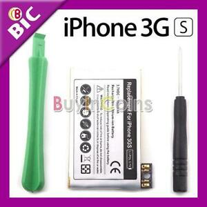 Replacement-Battery-1600-mAh-for-Apple-iPhone-3Gs-Tools