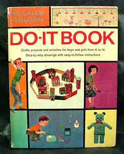 Vintage-034-McCALL-039-S-DO-IT-BOOK-034-1962-HB-PC-all-activities-completely-intact