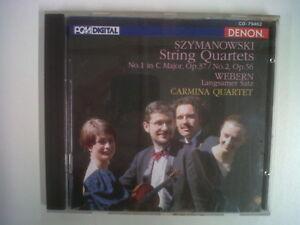 CD-SZYMANOWSKI-string-quartets-WEBERN-langsamer-satz