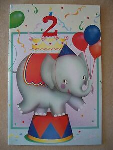 "Baby Boy ""2nd Birthday"" Card With Envelope By Tender Thoughts Greetings, NEW!"
