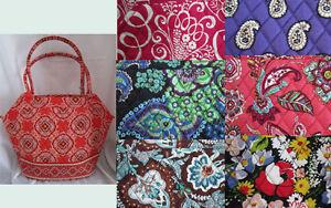 Vera-Bradley-Purse-Handbag-Angle-Tote-Pick-your-color-New-With-Tags