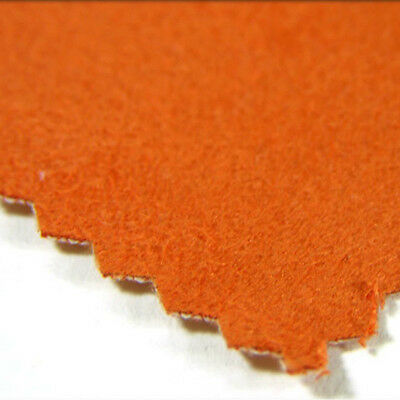 SOFT COTTON FAUX SUEDE FABRIC LEATHER LIKE MICROFIBER SUEDETTE UPHOLSTERY CLOTH
