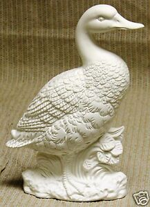 Ceramic Bisque Duck Air Capitol Mold MM327 U-Paint Ready To Paint