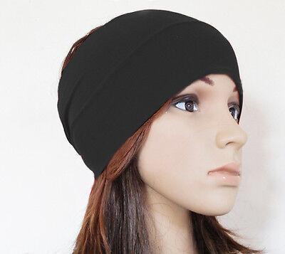"5"" women Colored wide yoga headband stretch hairband elastic hair bands turban"