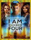 I Am Number Four (Blu-ray/DVD, 2011, 3-Disc Set, Includes Digital Copy)