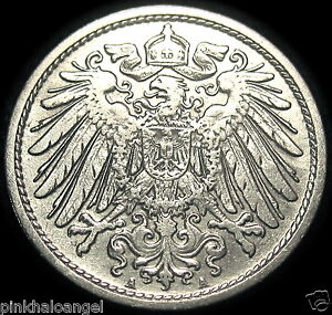Germany-German-Empire-German-1907A-10-Pfennig-Coin-GREAT-COIN