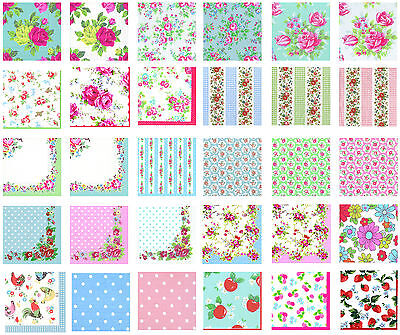 4 pack of cath kidston napkins for decoupage 30 designs u choose free post