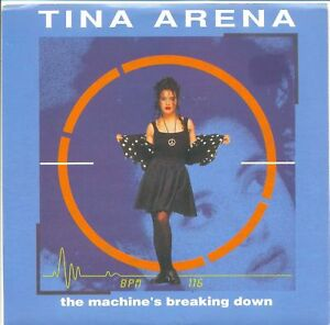 TINA-ARENA-The-Machine-039-s-Breaking-Down-RARE-7-034-Single