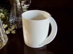 ROSENTHAL-CUPOLA-WEISS-Henkelbecher-Kaffeebecher