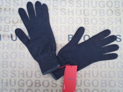NEW HUGO BOSS DESIGNER BLACK GREY WOOL RED BELT LABEL SUIT GLOVES BAG 1 TIE SIZE