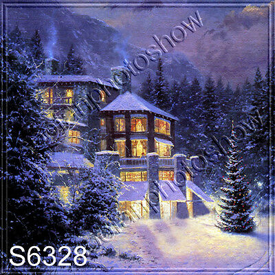 8'x8' Computer Painted Season Scenic background backdrop S6328B66