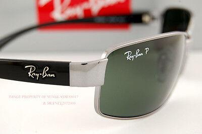 8803639b30c ... usa brand new ray ban sunglasses rb 3364 004 58 gunmetal polarized  green 93a88 45f3f