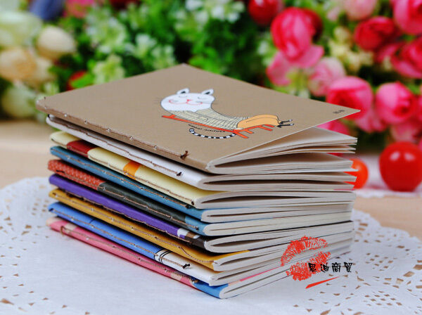 Oh Snap! Adorable Cartoon Little Notebook Handy Notepad Paper Notebook OZAU