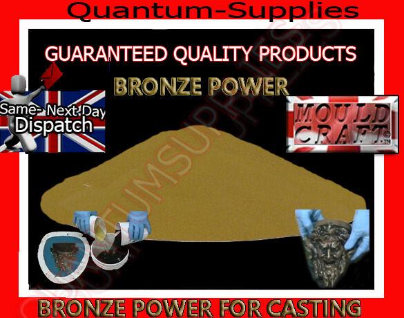 Mouldcraft Poudre De Bronze Froid Cast Filler 270 g-fibre de verre polyuréthane Moules