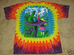 Alice-in-Wonderland-S-M-L-XL-2XL-3XL-4XL-Tie-Dye-T-Shirt