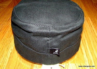 Kangol  Headwear  CottonTwill  Flexfit  Military  Army  Cap  Color  Black